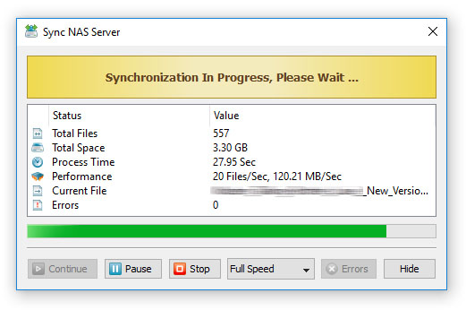 File Synchronization Process