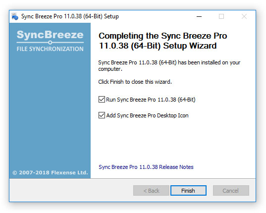 SyncBreeze - File Synchronization - Product Installation Procedure